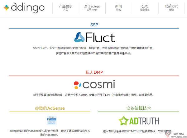 【经典网站】Adingo:日本互联网媒体广告公司