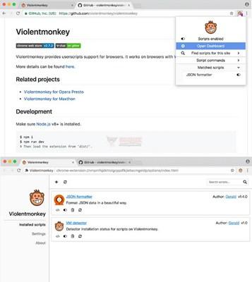 【工具类】ViolentMonkey|暴力猴游览器油猴插件