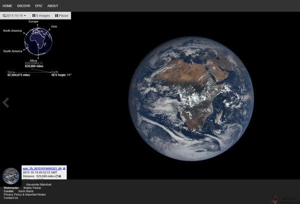 【经典网站】Dscovr:外太空气候观测平台