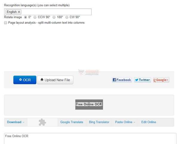 【工具类】NewOCR|在线免费OCR识别工具