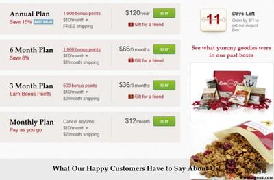 【经典网站】LoveWithFood:爱美食食品订购服务平台