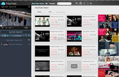 【经典网站】Muzitube:在线流行音乐MV平台