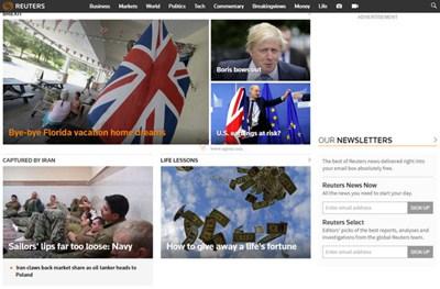 【经典网站】ReuTers:英国路透社官方网站