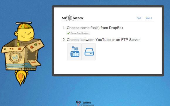 【经典网站】BoxConnect:基于Dropbox文件加速分享工具