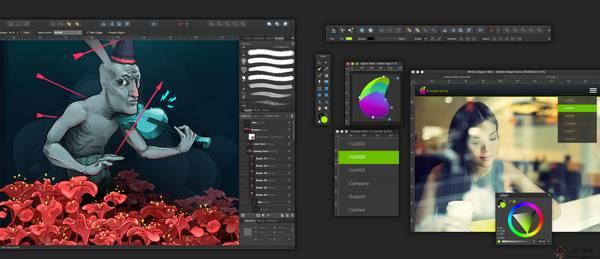 【工具类】Affinity Designer:矢量艺术设计开发网
