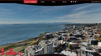 【数据测试】微软疯狂打造20G 像素的西雅图全景照
