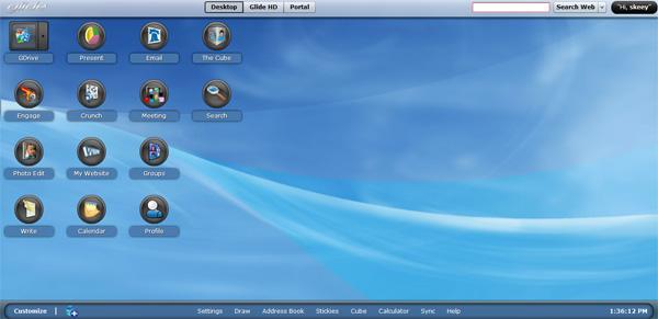 【数据测试】Glide OS,30G免费云存储空间云操作系统