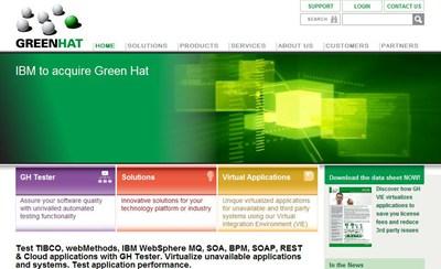 【数据测试】IBM收购云计算软件测试平台Green Hat