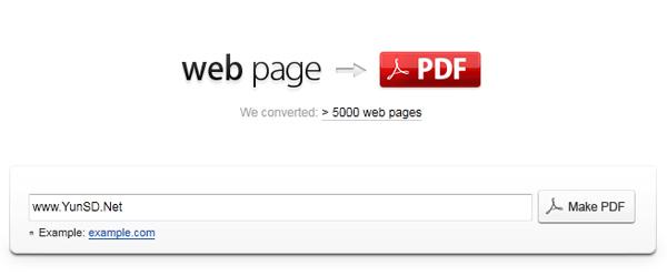 【数据测试】html-pdf-convert 在线将网页转换成PDF