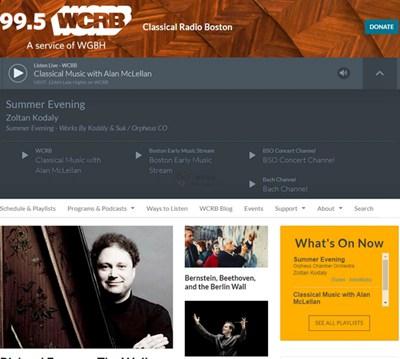 【经典网站】99.5 All Classical 波士顿古典音乐电台