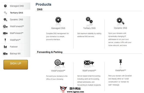【经典网站】ZoNeedit:免费域名NDS解析服务网