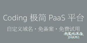 【Wordpress相关】Coding PaaS 平台自定义域名正式开放!