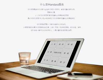 【工具类】Mandalachart|在线年度计划表制作工具