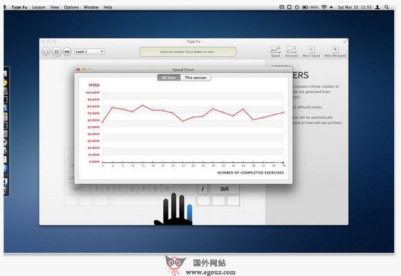 【经典网站】TypeFu:在线英打虚拟键盘测试平台