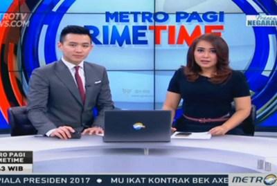 【经典网站】MetroTV|印尼美都电视台