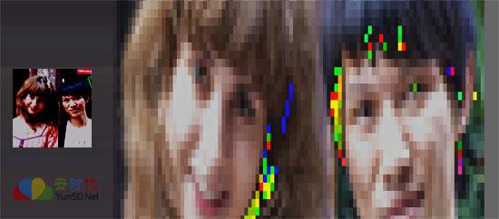 【数据测试】在线将图片转Excel 马赛克拼贴画