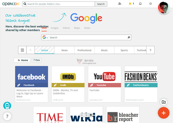 【工具类】Openoox:社会化网站书签管理工具