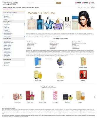 【经典网站】Perfume|在线品牌香水折扣网