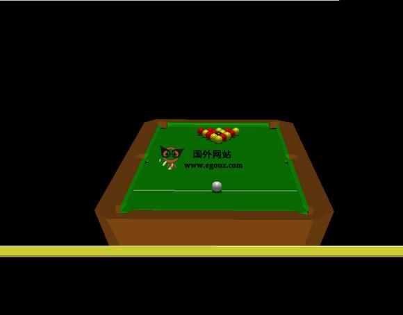 【经典网站】Play3dPool:在线美式桌球游戏