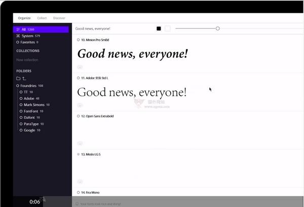 【工具类】Fontbase|设计师字体管理器
