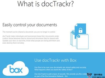 【工具类】DocTrackr:文档权限管理工具