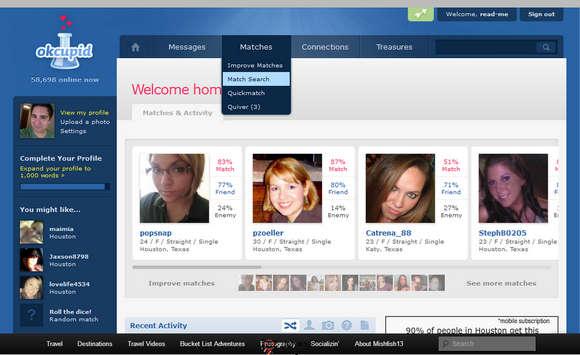 【经典网站】OKcupid:美国在线约会社交网