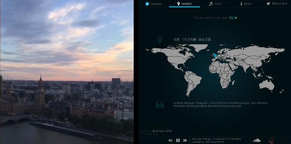 【经典网站】Hyperlax:探索Instagram图音网
