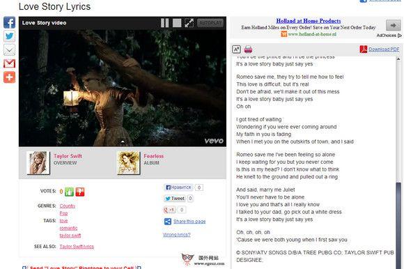 【经典网站】MotoLyrics:免费音乐及歌词分享网