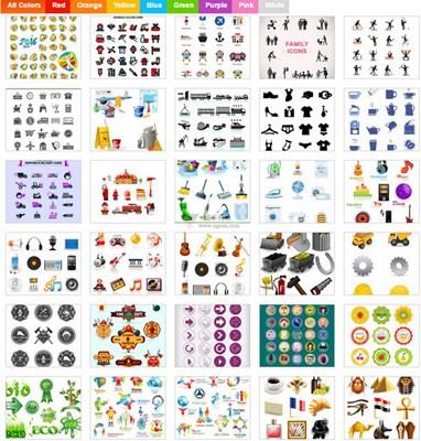 【素材网站】免费网站ICON素材集合网