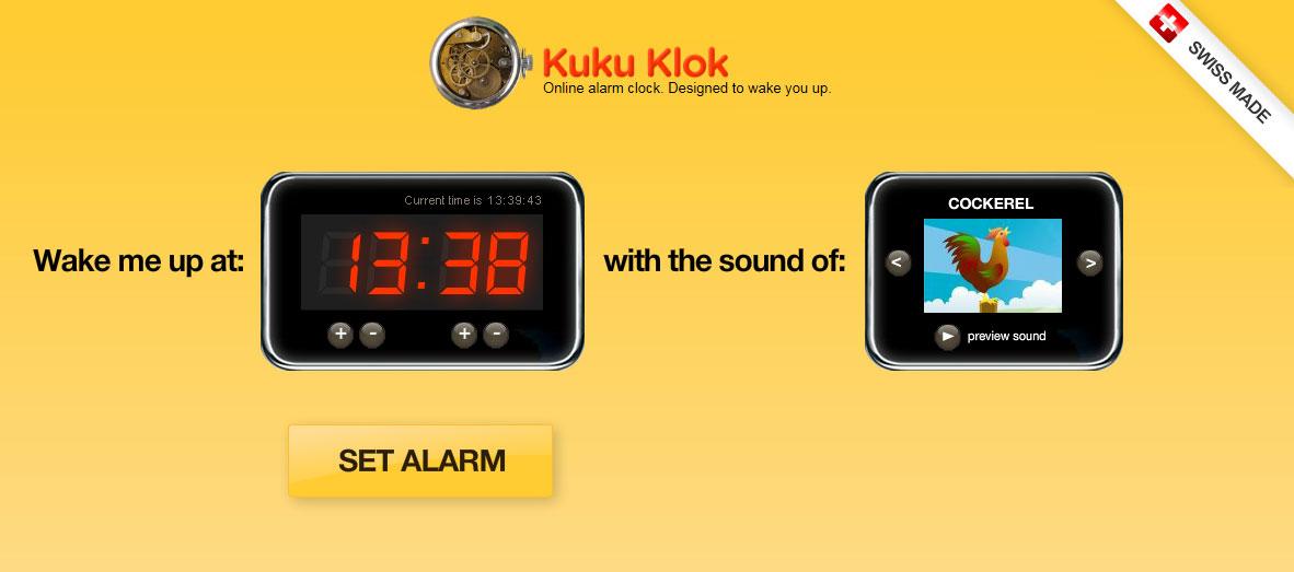 【数据测试】kukuklok:简单实用的在线闹钟