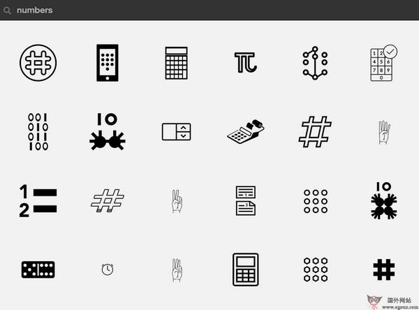 【素材网站】TheNounProject:免费图案符号素材网