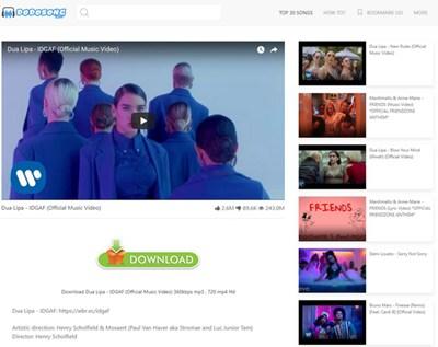 【经典网站】Dodosong 油管视频搜索和下载网