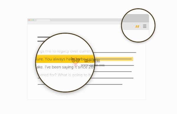 【工具类】Sniipit:在线名言收集平台