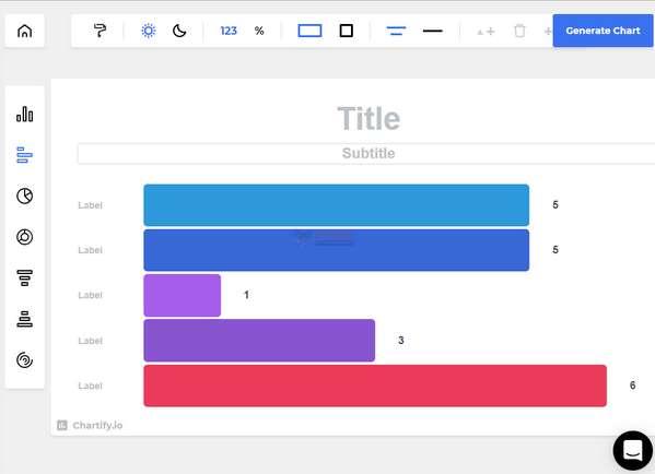 【工具类】Chartify|在线免费统计图表制作工具
