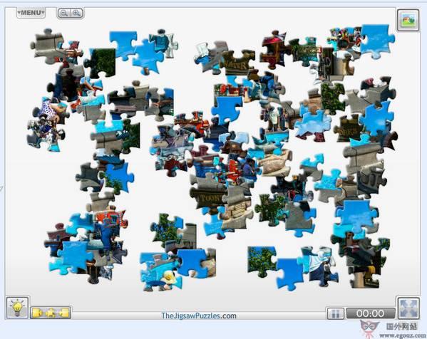 【经典网站】TheJigsawPuzzles:在线拼图游戏大全
