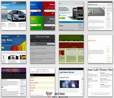 【素材网站】ThemeLab:免费WordPress主题资源网