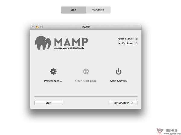 【工具类】MaMp:免费PHP/MySQl集成环境工具