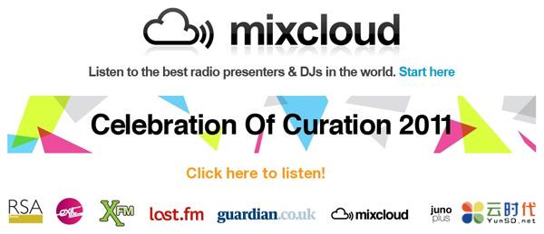 【数据测试】mixcloud,DJ混音分享免费云存储空间