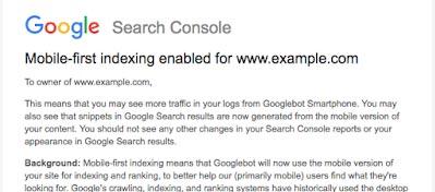 【SEO优化】Google正式开始转向移动优先索引