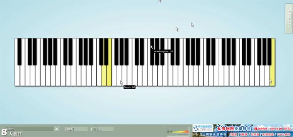 【数据测试】Multiplayer Piano:有趣的多人在线演奏钢琴