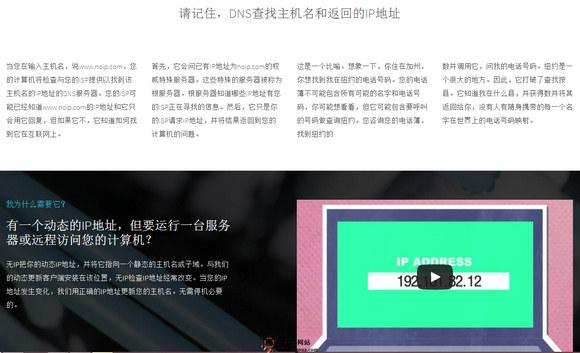 【经典网站】Noip:免费动态DNS服务平台