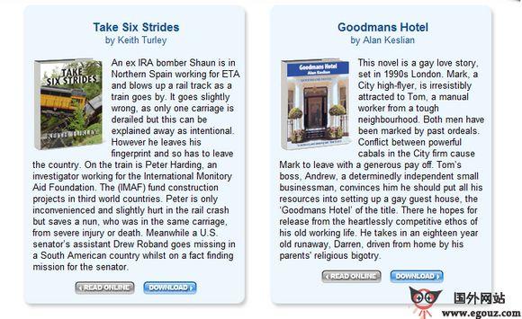【经典网站】GloBusz:免费在线电子书浏览及下载平台