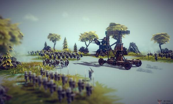 【经典网站】Besiege:沙盒模拟攻城游戏