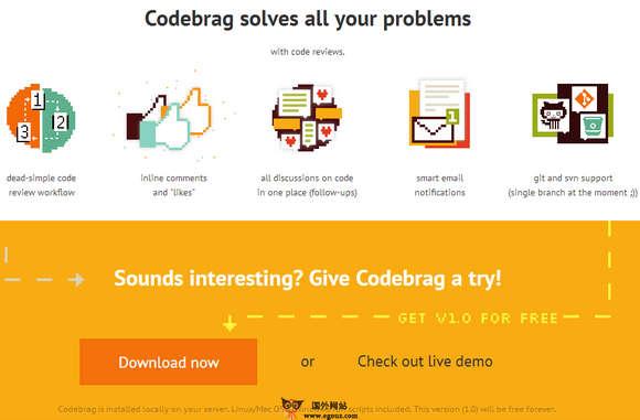 【工具类】CodeBrag:在线代码审查检测工具