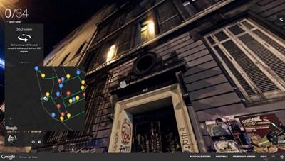 【经典网站】NightWalk:谷歌城市夜景街景平台