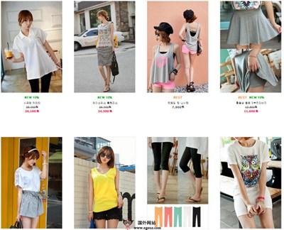 【经典网站】Tisvin.co.kr:韩国时尚服饰购物网