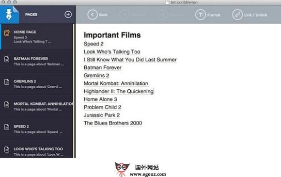 【工具类】Scribbleton:个人笔记式维基百科