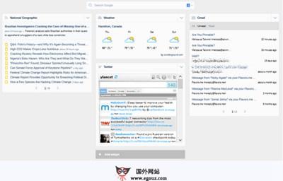 【工具类】Start.me:基于浏览器启动界面管理工具