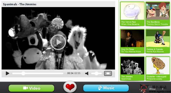 【经典网站】JitterBug.TV:儿童音乐视频订阅网