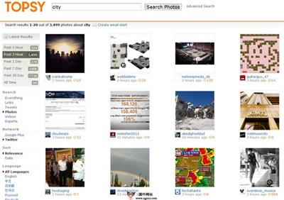 【经典网站】Topsy:基于Twitter微博客搜索引擎